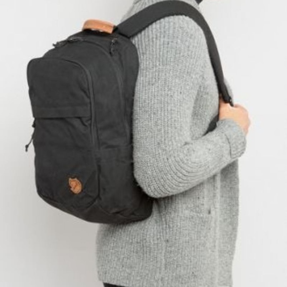 f00a14aadbe81 Fjallraven Handbags - Fjallraven Raven 20L Litre Backpack Black